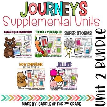 Journeys 2nd Grade Unit 2 Bundle Supplemental Activities