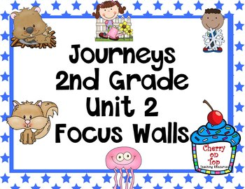 Journeys 2nd Grade Unit 2 Focus Walls