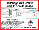 Journeys 2nd Grade- Unit 2 Google Slides