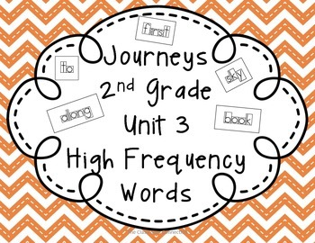 Journeys 2nd Grade Unit 3 High Frequency Words