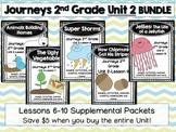 Journeys 2nd Grade Unit 2 Lessons 6-10 BUNDLE