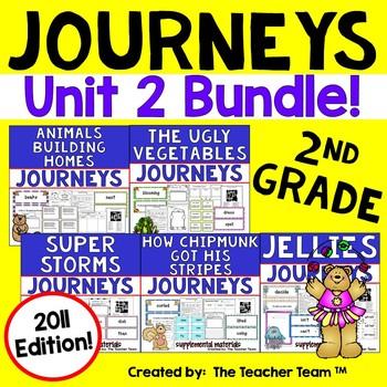 Journeys 2nd Grade Unit 2 Supplemental Activities & Printables 2011 version