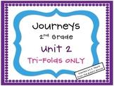 Journeys 2nd Grade Unit 2 Tri-Folds Only