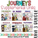Journeys 2nd Grade Unit 3 Bundle Supplemental Activities