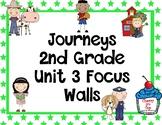 Journeys 2nd Grade Unit 3 Focus Walls