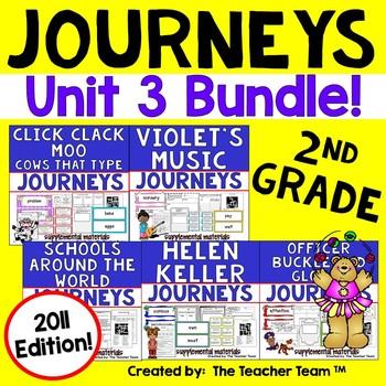 Journeys 2nd Grade Unit 3 Supplemental Materials 2011