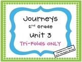Journeys 2nd Grade Unit 3 Tri-Folds Only