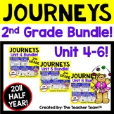 Journeys 2nd Grade Unit 4 through Unit 6 Bundle 2011