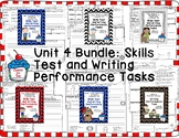 Journeys 2nd Grade- Unit 4 Bundle Skills Tests and Writing Tasks