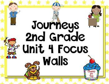 Journeys 2nd Grade Unit 4 Focus Walls