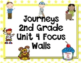 Journeys 2nd Grade Unit 4 Focus Walls
