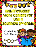 Journeys 2nd Grade Unit 4 High Frequency Word Centers