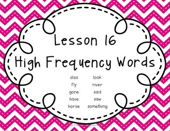Journeys 2nd Grade Unit 4 High Frequency Words