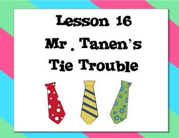 Journeys 2nd Grade Unit 4 Vocabulary Super Sleuth Sample Mr. Tanen's Tie Trouble
