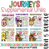 Journeys 2nd Grade Unit 5 Bundle Supplemental Activities