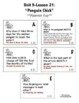 Journeys 2nd Grade - Unit 5 Student Study Guides & Activities for Lessons 21-25