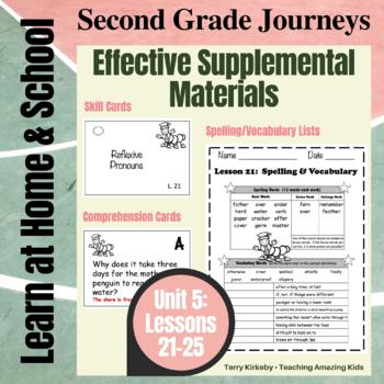 2nd Grade Journeys - Unit 5:  Effective Supplemental Materials