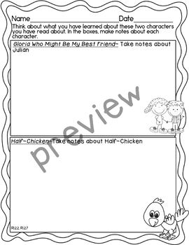 Journeys 2nd Grade Unit 5 Writing Performance Task