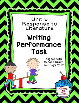 Journeys 2nd Grade Unit 5 Writing Performance Task