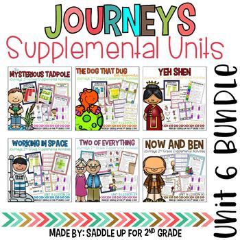 Journeys 2nd Grade Unit 6 Bundle Supplemental Activities