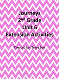 Journeys 2nd Grade Unit 6 Extension Activities