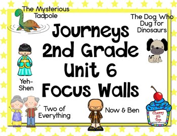 Journeys 2nd Grade Unit 6 Focus Walls