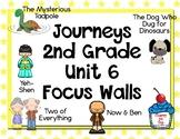 Journeys 2nd Grade Unit 6 Focus Walls
