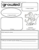 Journeys 2nd Grade Unit 6 The Dog That Dug for Dinosaurs Vocabulary