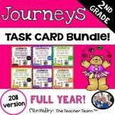 Journeys 2nd Grade Early Finishers Task Cards Bundle 2011