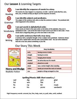 Journeys 2nd Grade Weekly Newsletters Units 1-6 BUNDLE