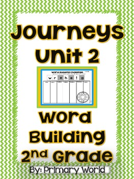 Journeys 2nd Grade Word Building , Unit 2