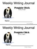 Journeys 2nd Grade Writing Journal Penguin Chick
