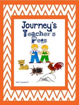 Journey's 2nd GradeTeacher's PetsSupplements