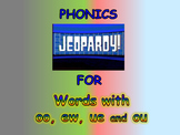 "Journeys 2nd Lesson 26 Jeopardy Phonics PPT for ""The Mysterious Tadpole"""