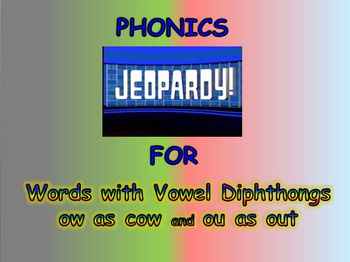 """Journeys 2nd Lesson 28 Jeopardy Phonics PPT for """"Yeh-Shen"""""""