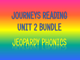 Journeys 2nd Unit 2 BUNDLE for Jeopardy Phonics