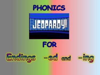 Journeys 2nd Unit 4 BUNDLE for Jeopardy Phonics