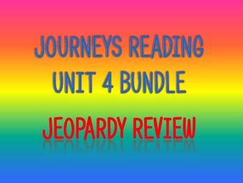 Journeys 2nd Unit 4 Bundle Jeopardy Review