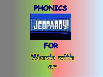 Journeys 2nd Unit 5 BUNDLE for Jeopardy Phonics