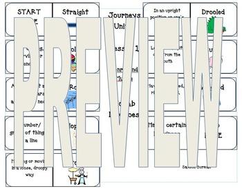 Journeys 2nd Vocabulary Dominoes Unit 1 Bundle