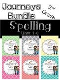 Journeys 2nd grade spelling BUNDLE ALL units