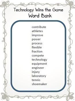 Journeys 3rd Grade Cloze Worksheet - Crossword Puzzle Bundle Common Core 2014