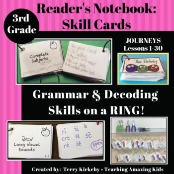 Journeys 3rd Grade: Grammar