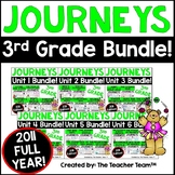 Journeys Reading 3rd Grade Units 1-6 Full Year Supplementa