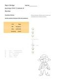 Journeys 3rd Grade Pop's Bridge Lesson Review page