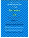 Journeys 3rd Grade Reading Series: Dictionary Skills Unit 1