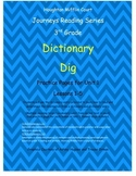 Journeys 3rd Grade Reading Series: Dictionary Skills Unit 1