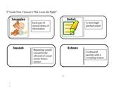 "Journeys 3rd Grade Reading Series Vocabulary Dominoes ""Bat"