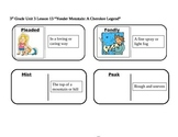 """Journeys 3rd Grade Reading Series Vocabulary Dominoes """"Yonder Mountain..."""""""