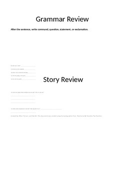 Journeys 3rd Grade Review Study Guide Unit 1: The Trial of Cardigan Jones